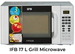 This is an IFB 17 L Best Grill Microwave Oven 2021