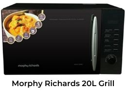 Morphy Richards Best Grill Microwave Oven in India 2021