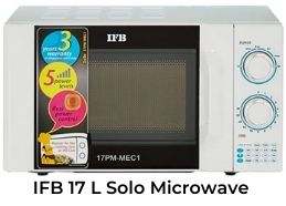 It is one of the best solo microwave oven in India 2021