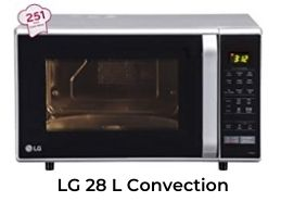 LG 28L Best Microwave Oven under 15000 in India 2021