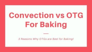 Read more about the article 3 Reasons Why OTGs are Best for Baking: Convection Oven vs OTG