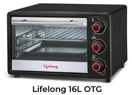 lifelong 16l best oven for baking cakes at home