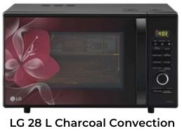 lg 28 l charcoal convection oven